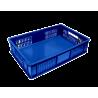 Canasta Verdurero plastica azul 61x42x10 cm