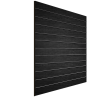 Slatwall Melamina Negro de 1.22 x 2.44 cm, 3 p