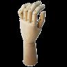 Mano hombre madera flexible 29 cms. (1unidad)